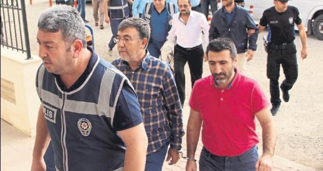 Kumluca'da 9 tutuklama