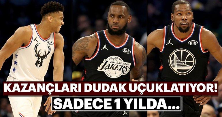 İşte NBA'in en çok kazanan basketbolcuları