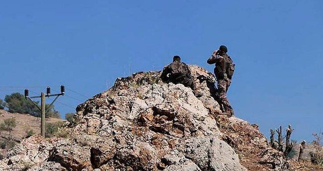 PKK cephanesi basıldı, 2 de terörist öldürüldü