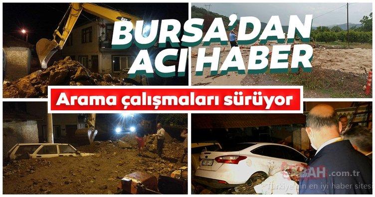 Son dakika! Bursa'dan acı haber geldi! Arama çalışmaları sürüyor...