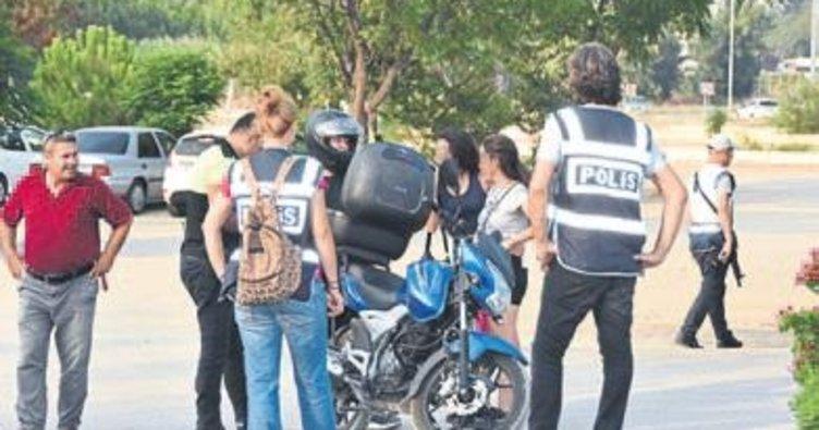 Antalya polisinden çocuk denetimi