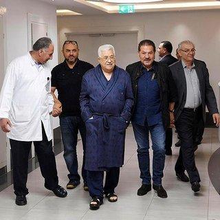 Mahmud Abbas'ın hastanede çekilen fotoğrafları yayımlandı