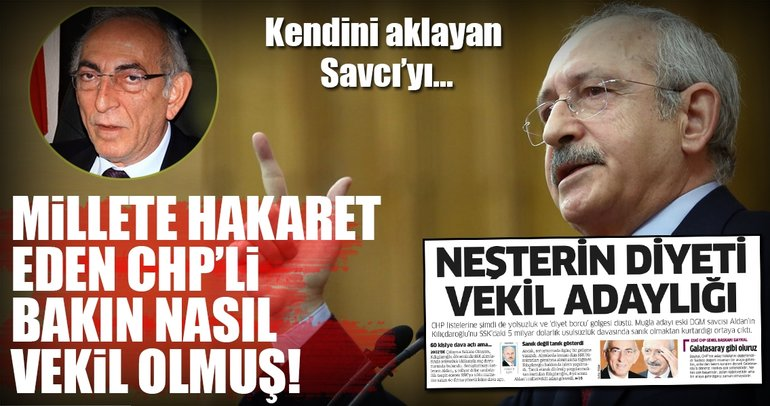 İşte millete hakaret eden CHP'li Ömer Süha Aldan