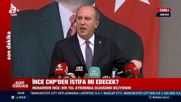 SON DAKİKA! Muharrem İnce'den canlı yayında CHP'den istifa açıklaması! Çok sert açıklamalar | Video