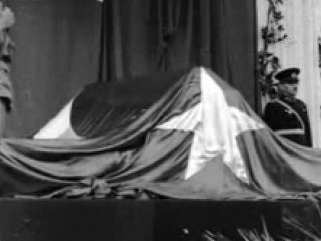Atatürk'ün naaşının taşınma görüntüleri