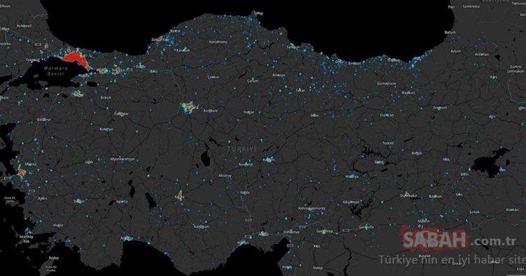 İllere göre vaka sayısı 7 Nisan 2020! Türkiye günlük koronavirüs haritası ile il il corona virüsü vaka dağılımı