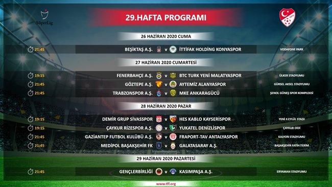 Son dakika: Süper Lig fikstürü açıklandı! İşte maç programı - Futbol -
