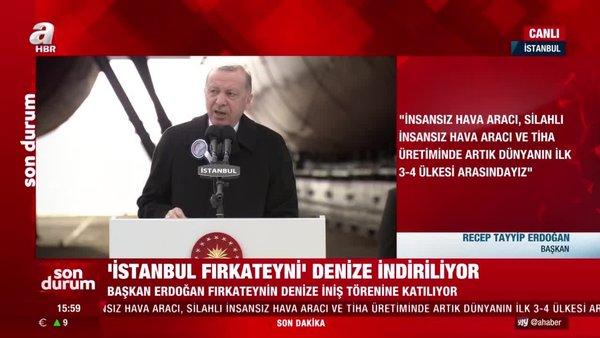 Son dakika! Cumhurbaşkanı Erdoğan