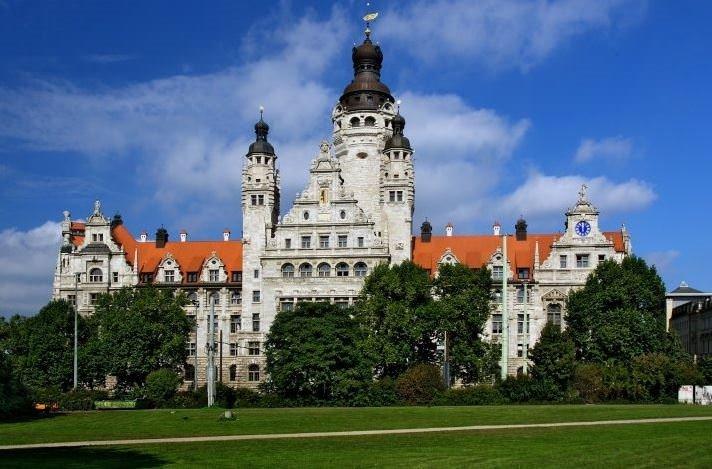 Almanya'nın güzel şehri Leipzig