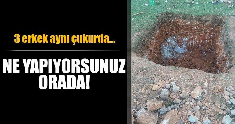 Son dakika: Bursa'da define avcıları kazdıkları çukurun içinde gözaltına alındı