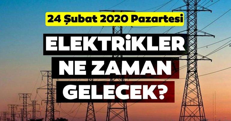 BEDAŞ İstanbul elektrik kesintisi listesi 24 Şubat 2020: İstanbul'da elektrikler ne zaman gelecek?
