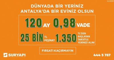 Türkiye'nin En Büyük Kentsel Dönüşüm Projesi Sur Yapı Antalya