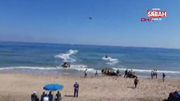 İstanbul Şile'de denize giren iki kardeş boğularak öldü   Video
