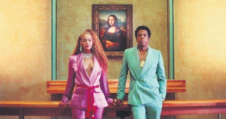 Louvre'da Beyonce ve Jay-Z'nin izinde