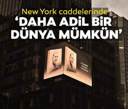 """Başkan Erdoğan'ın """"Daha Adil Bir Dünya Mümkün"""" kitabı New York'ta tanıtıldı"""