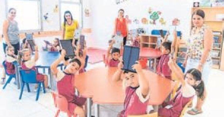 Bu okulda çevreci çocuklar yetişecek