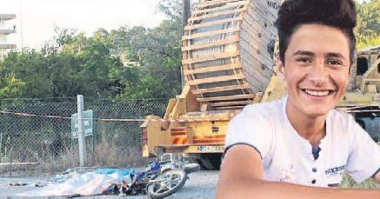 Liseli genç kaza kurbanı