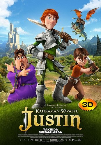 Kahraman Şövalye Justin filminden kareler