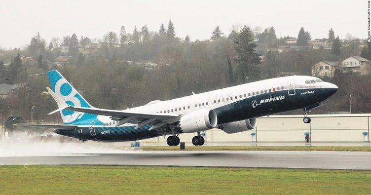 Hava Boeing Max 8'e kapandı