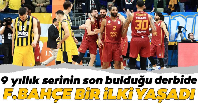 Fenerbahçe Beko - Galatasaray Doğa Sigorta maçından kareler