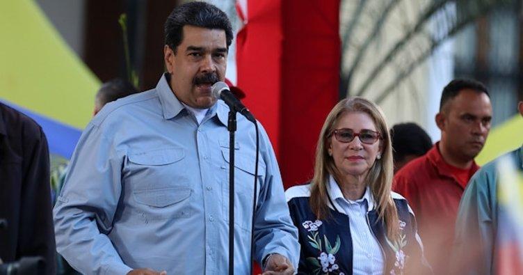 Maduro: Trump Venezuela'ya saplantılı