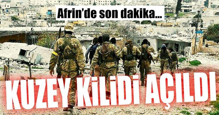 Afrin'e gidenyolda 'kuzey kilidi ' açıldı