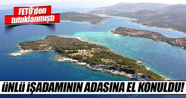 Fikret İnan'ın 32 milyon dolarlık adasına da el konuldu
