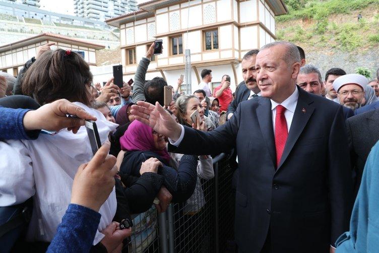Başkan Erdoğan'dan Hacı Osman Torun Camii'nin açılışında önemli açıklamalar