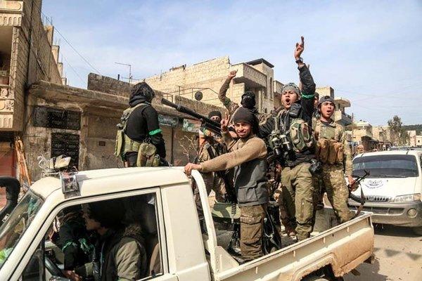 Afrin'de Hükümet Binasına girildi!