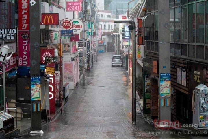 Önce deprem ardından tayfun! Son 60 yılın en büyüğü...