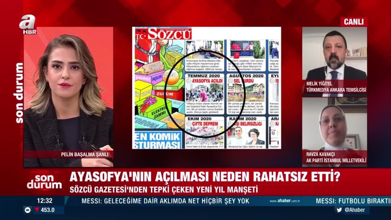 Sözcü milletin sevincinden üzüntü duydu! Ayasofya'nın açılışına 'felaket'  dedi - Son Dakika Haberler