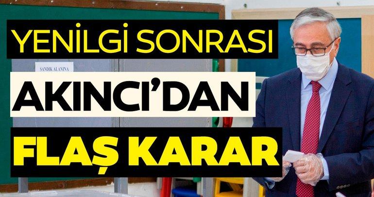 KKTC'de seçimi kaybeden Mustafa Akıncı'dan flaş karar!