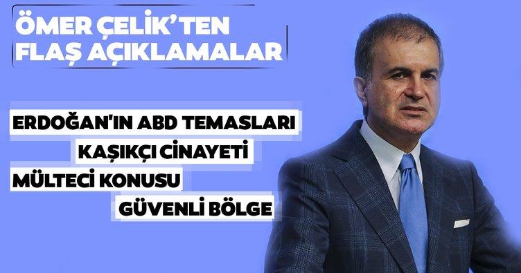 AK Parti Sözcüsü Ömer Çelik: Türkiye adaletin tahakkuku için ilkeli süreç yürüttü
