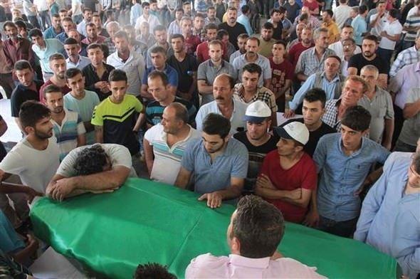 Gaziantep'teki saldırı noktasından kareler