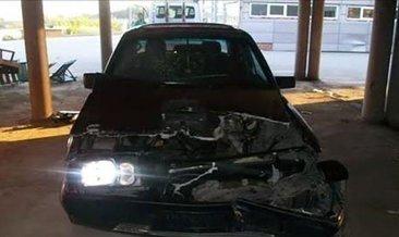 Bu Mercedes arabadan bir şey olmaz demişlerdi!