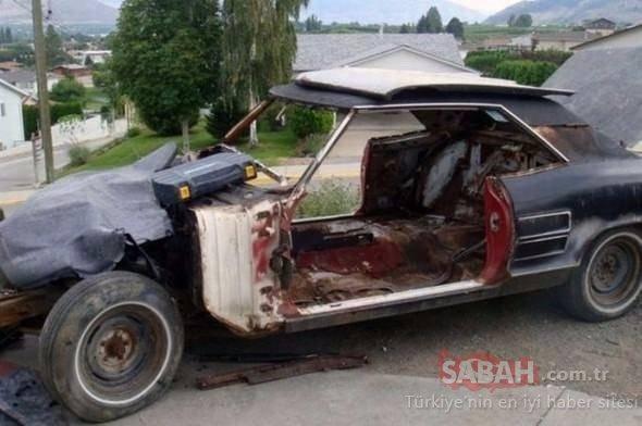 Otomobilin muhteşem değişimi!