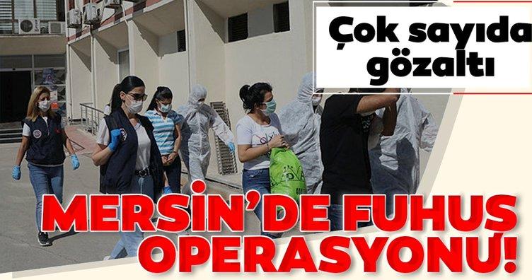 Son dakika! Mersin'de günübirlik evlere fuhuş operasyonu: 21 gözaltı