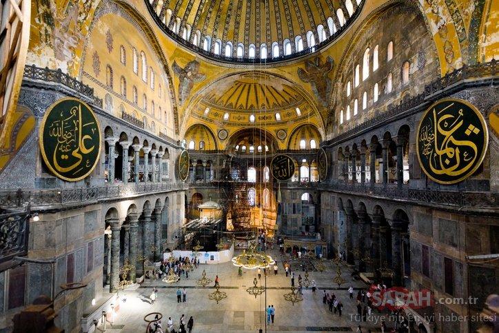 Son dakika haberler... Ayasofya'da ilk namaz ne zaman kılınacak? Mozaik ve freksler kapatılacak mı, Ayasofya ne zaman ibadete açılacak?