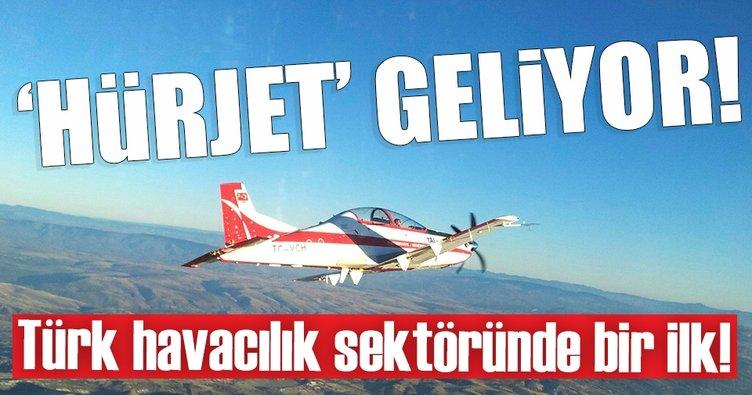 HÜRKUŞ'un jet versiyonu HÜRJET geliyor