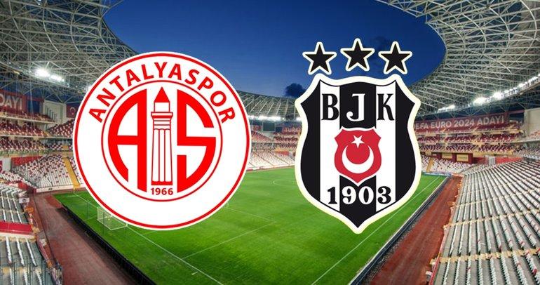 Antalyaspor Beşiktaş maçı ne zaman, saat kaçta ve hangi kanalda?