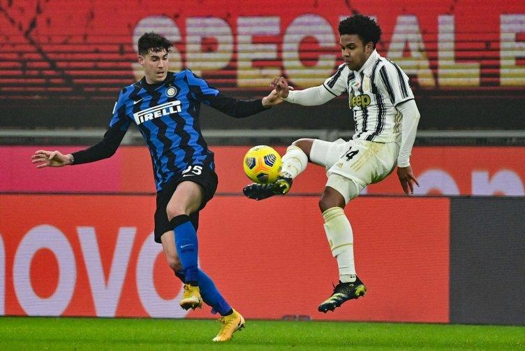 İtalya Kupası yarı final ilk maçında Juventus İnter'i mağlup etti