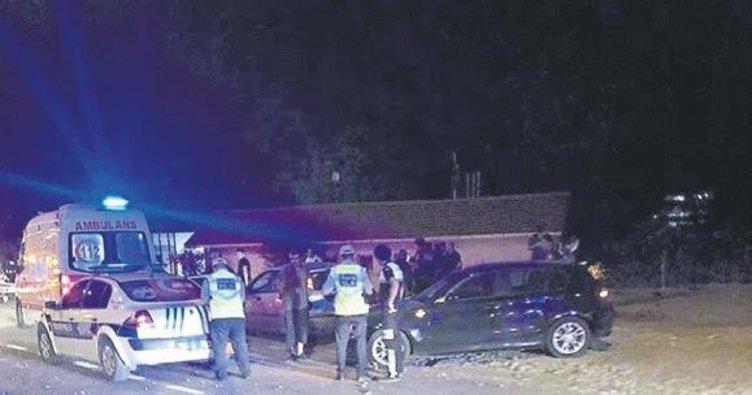 Hamile kadın kazada öldü
