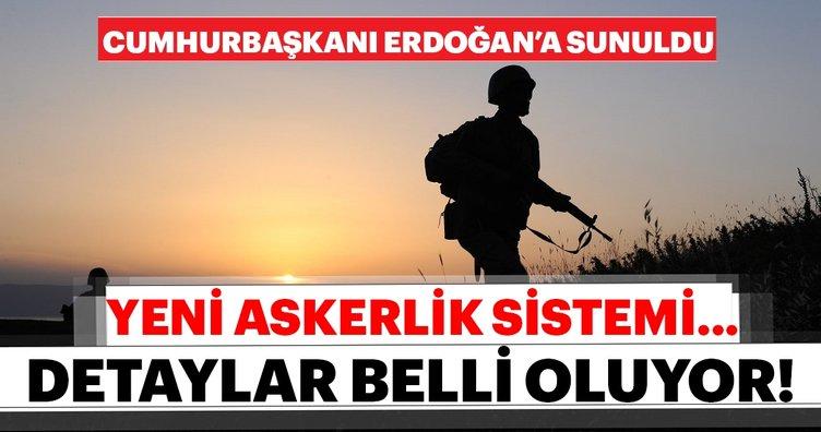 Tek tip yeni askerlik sistemi ile ilgili son dakika gelişmesi! Başkan Erdoğan'a sunuldu: Bedelli askerlik geliyor mu?