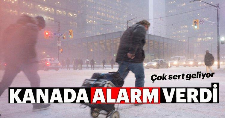 Kanada'da - 45 alarmı