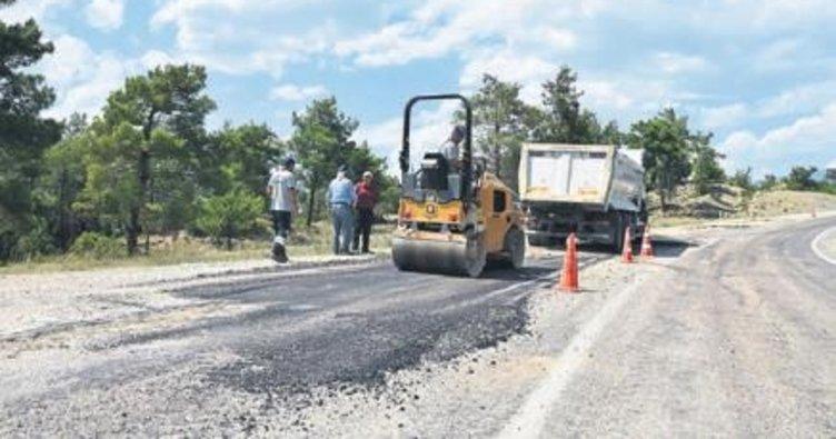 Melih ABİ: Kızıldağ yayla yolu onarılıyor