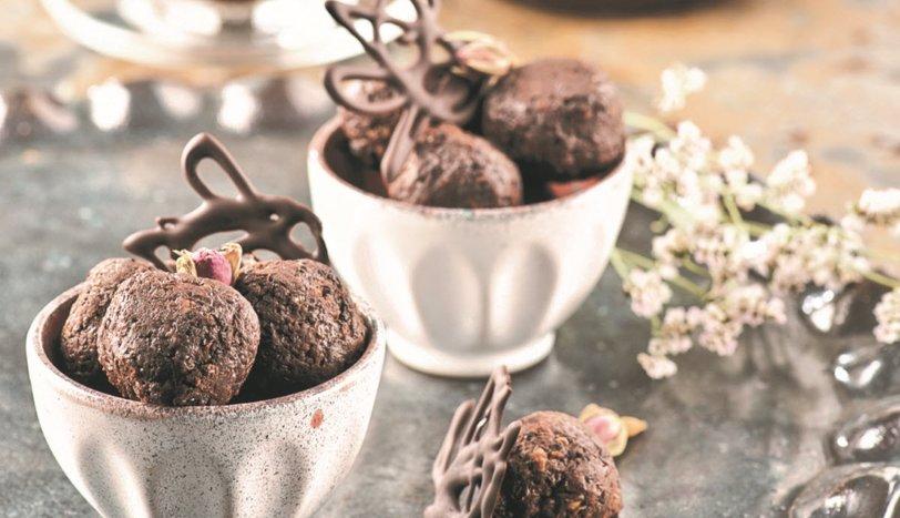 Kionalı Çikolata Topları Tarifi