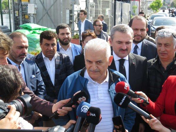 Binali Yıldırım'dan İstanbul seçimleriyle ilgili yeni açıklama.