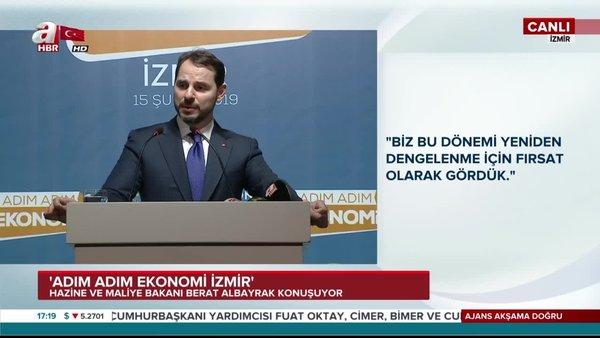 Bakan Albayrak: Türkiye Ekonomisi dengelenme sürecini başarıyla sürdürmektedir