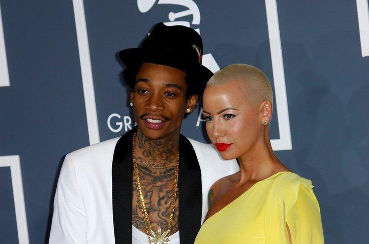 Wiz Khalifa ve Amber Rose boşandı