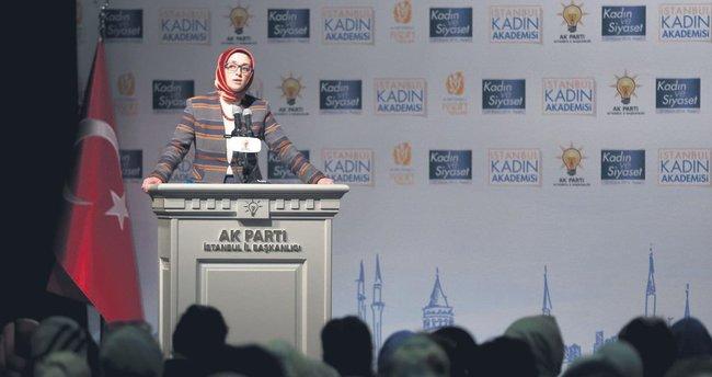 AK Parti'nin İstanbul Kadın Akademisi açıldı